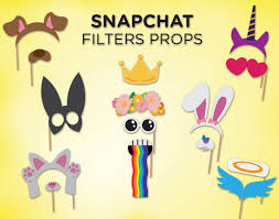 printable hippie photo booth props printable snapchat booth props snapchat filters by fiestasupplies