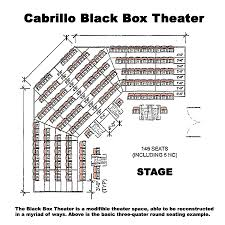 home theater seating dimensions venues cabrillo college u0027s visual applied and performing arts