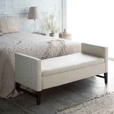 Minimalist Bed Bedroom Storage Bench For Small And Minimalist Bedroom