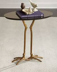 faux bois side table faux bois side table bronze base and marble top furniture