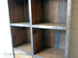 industrial wood u0026 metal bookcase houston furniture refinishing