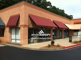 Fabric Awnings Open Ended Fabric Awnings Envirocanopy
