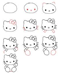 draw kitty kitty kitty drawings