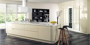 cream gloss kitchens ideas kitchens tierney kitchens