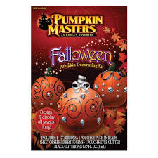 Thanksgiving Pumpkin Decorations Fall And Thanksgiving Pumpkin Decorating Kit 66586 Halloween