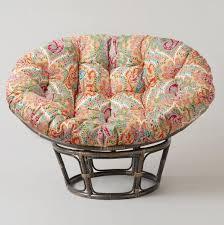 Discount Wicker Furniture Ideas Fascinating Pier One Papasan Cushion For Papasan Chair