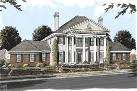 neoclassical home plans colonial house plans southern home design db 24192 11756