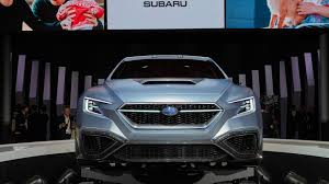 subaru viziv interior subaru viziv performance concept could preview next gen wrx