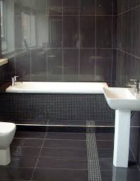 10 gorgeous bathrooms with black tile slate bathroom black tile