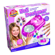 amazon com small world toys fashion nail designer device makeup