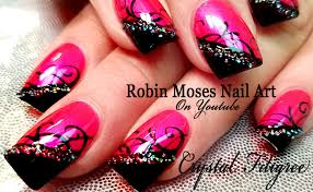 robin moses nail art how to fix a nail design when your client