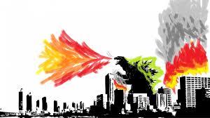 godzilla wallpapers cityscapes fire godzilla wallpaper 2385