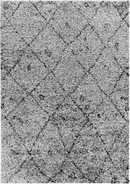 White Modern Rug Shag Rugs A Wide Range Of Shapes Sizes Designs Well Woven