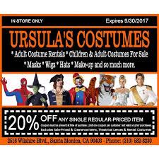 halloween costume coupons ursula u0027s costumes