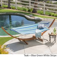 Folding Hammock Chair Grand Cayman Hammock By Christopher Knight Home Free Shipping