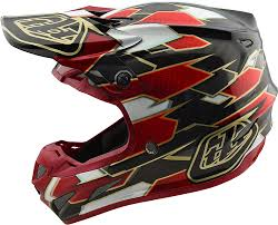 tld motocross helmets 2018 troy lee designs se4 carbon maze helmet motocross dirtbike