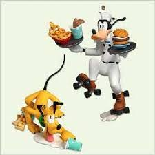 order up goofy and pluto 2005 disney hallmark