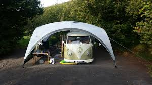 Outlaw Driveaway Awning Coleman Awning Setup Scamp Stuff Pinterest