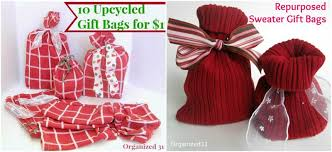 christmas wrap bags 10 diy christmas gift wrapping ideas simply southern baking