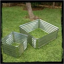 Corrugated Metal Planters by 32 Best Garden Beds Corrugated Iron Images On Pinterest Raised