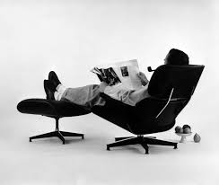 a front row seat to eames chairs