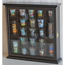 glass door cabinet walmart shot glass display case wall cabinet with glass door solid wood