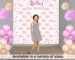 Personalized Photo Backdrop 18th Birthday Personalized Photo Backdrop Happy Birthday
