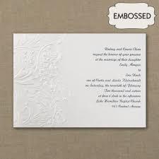 embossed wedding invitations wedding invitations and wedding stationery flamingo