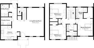 Floor Plans 3 Bedroom 2 Bath 3 bedroom 2 1 2 bath townhome emerson square apartmentsemerson