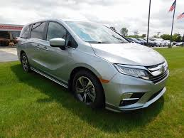 new 2018 honda odyssey touring 4d passenger van in richmond 58316