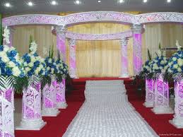 2014 popular and crystal wedding mandap pagoda model number
