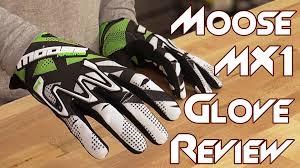 moose motocross gear moose racing mx1 glove review from sportbiketrackgear com youtube