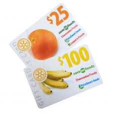 food gift cards rotary save on foods gift card program sources foundation