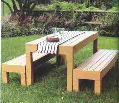 Designs For Wooden Picnic Tables by Best 25 Picnic Table Plans Ideas On Pinterest Outdoor Table