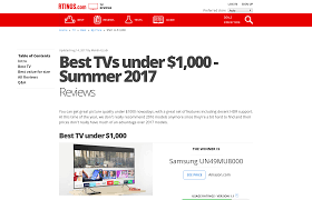 best black friday 4k tv deals 240hz best tvs under 1 000 summer 2017 reviews