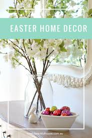 an elegant easter entrance beautiful house