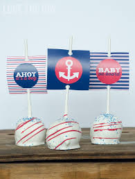 anchor baby shower ideas boy baby shower ideas a nautical baby shower