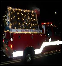 Fire Trucks Decorated For Christmas Cnbnews Net Gloucester City Fire