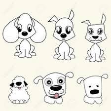 draw cartoon dogs cartoon dog