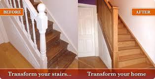 Oak Banister Makeover Wooden Staircases Swansea