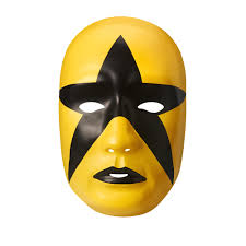 wwe halloween costumes for kids stardust black gold plastic halloween party wwe mask ebay