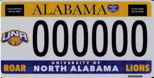 of alabama alumni car tag collegiate license plates alabama department of revenue