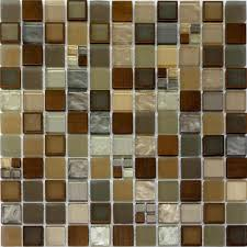 Copper Kitchen Backsplash Tiles Sample Copper Insert Metallic Glass Mosaic Tile Kitchen