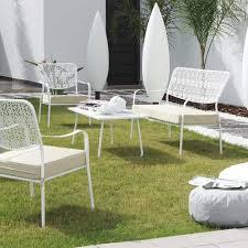 Salon De Jardin Design Luxe by Stunning Salon De Jardin Fer Blanc Contemporary Amazing House