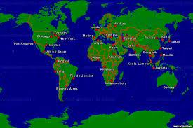 Map Of Jakarta Primap Weltkarten