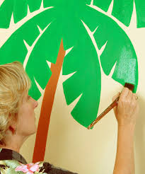 interior great image of coconut tree elephant wall murals for extraordinary home interior decoration design ideas using elephant wall murals great image of coconut tree