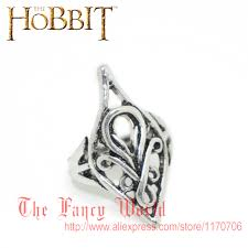 gifts for lord of the rings fans hobbit thranduil ring four 4 rings set mirkwood elf king ring lotr