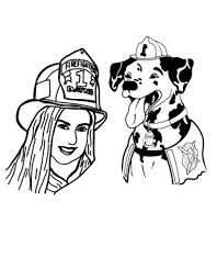 28 dalmatian fire dog coloring books fire dog colouring