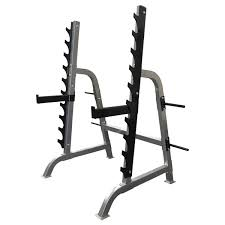 home gym squat gun rack olympic bar fid weight bench 100kg package