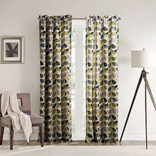 Multi Colored Curtains Drapes Philips Two Panels Contemporary Minimalist Multi Color